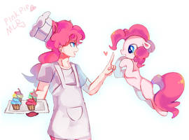 wait~pinkie pie by Kinda-L