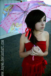 Girl in the Red dress by Kaywa