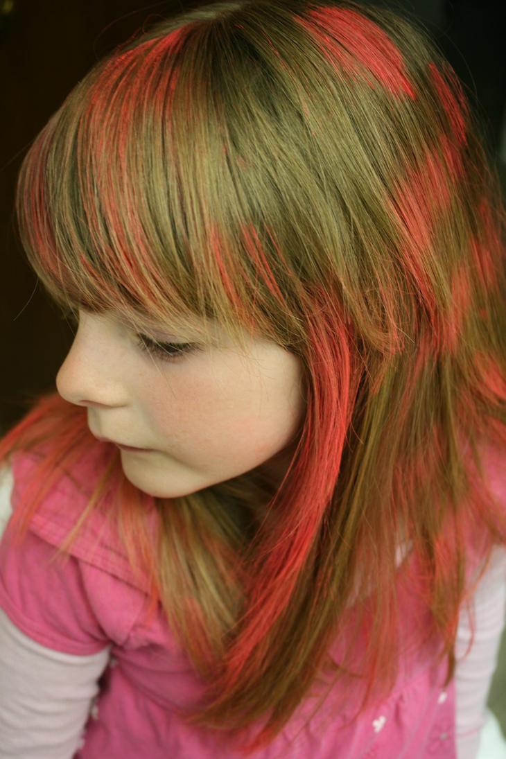 Spray Painted Hair By Kaywa On Deviantart