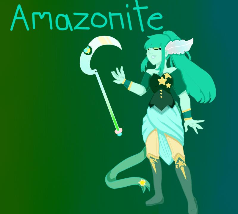 Amazonite by pinkiecitrine