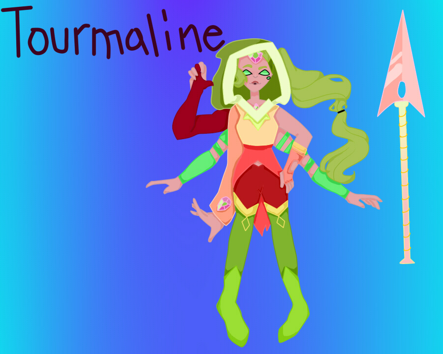 Tourmaline by pinkiecitrine