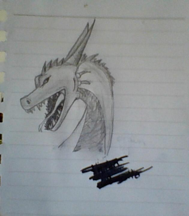 Dragon 1 by pinkiecitrine