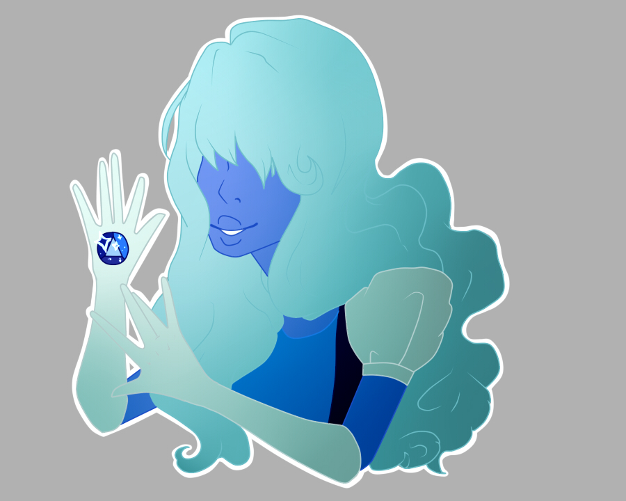 Sapphire by pinkiecitrine