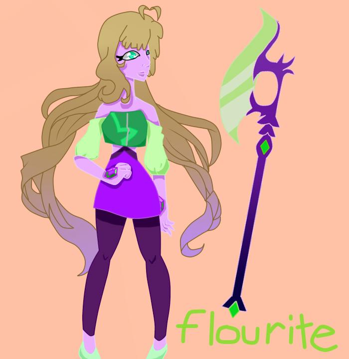 Flourite by pinkiecitrine