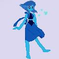 Pixel Lapis by pinkiecitrine