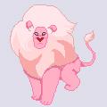 Pixel Lion by pinkiecitrine