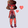 Pixel Ruby by pinkiecitrine