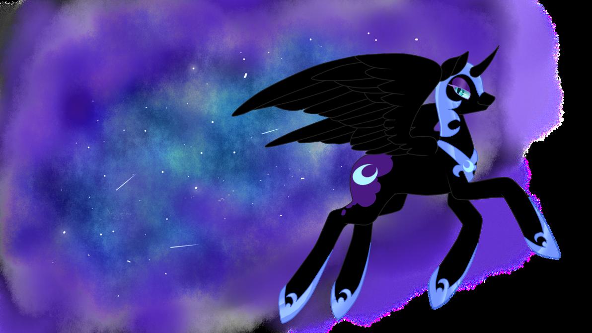Nightmare Moon by pinkiecitrine