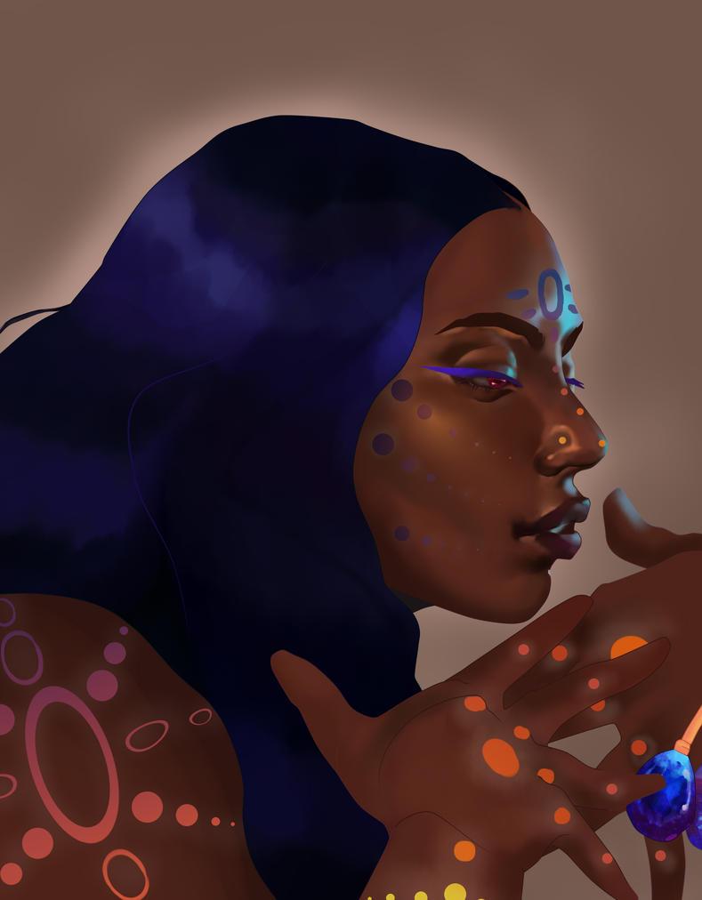 [Commission] Caina by pinkiecitrine