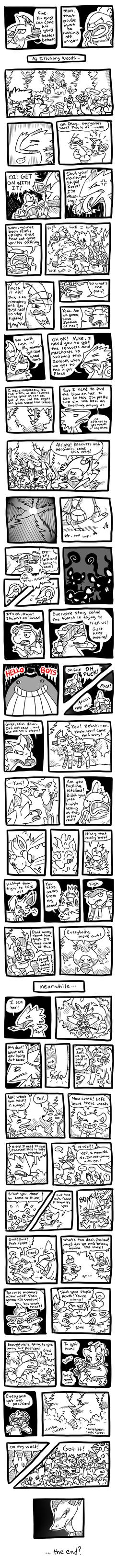 Temporal Terror-Forming! part 2 by Trinosaur
