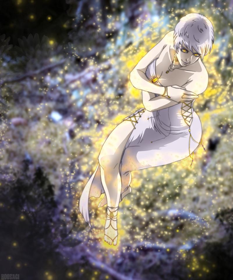 FA: The White Fae by kousagi