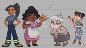 Women character design