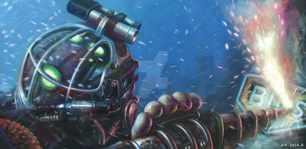 Bioshock 3 by jazzjiang