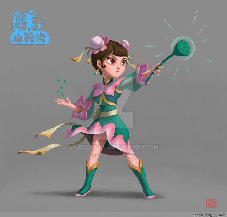 Lotus Fairy by jazzjiang