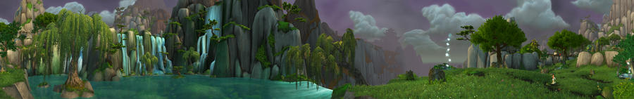 Jade Forest - Lake Kittitata 2 by Wishmasterok