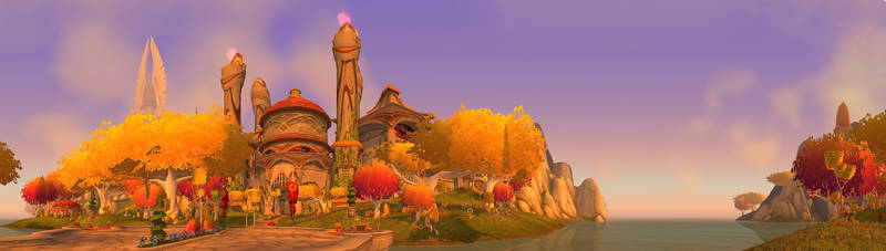 Silvermoon Ruins Gate by Wishmasterok
