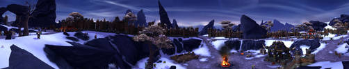 Draenor - Starting Garrison by Wishmasterok