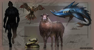 LOCH Creature Line up