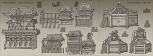 Edo Electrictical Dam and Generator Sketches by METAPHOR9