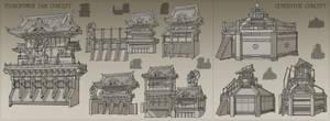 Edo Electrictical Dam and Generator Sketches