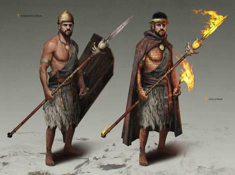 Sumerian Warrior