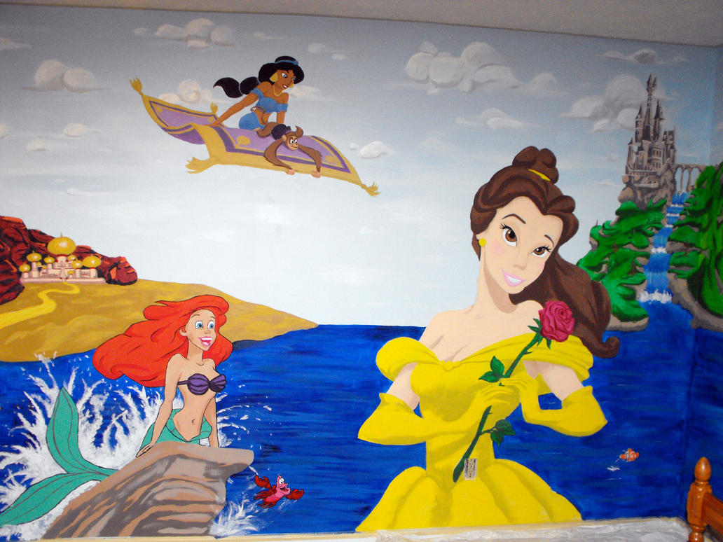 Disney Wall Mural Pic 5 by jeremythatisme on DeviantArt