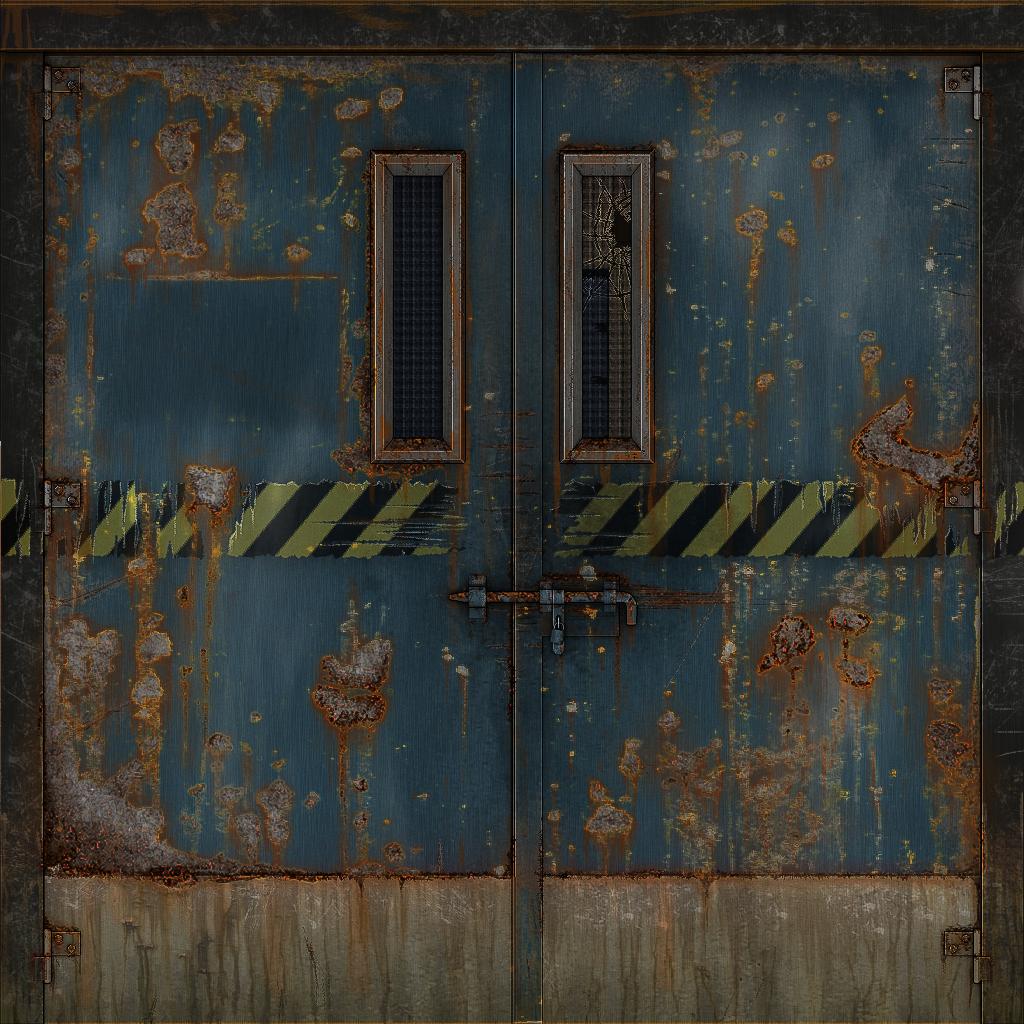 1024 #9D902E 3D Metal Door Texture By EliteRocketbear On DeviantArt image Used Metal Doors 41031024