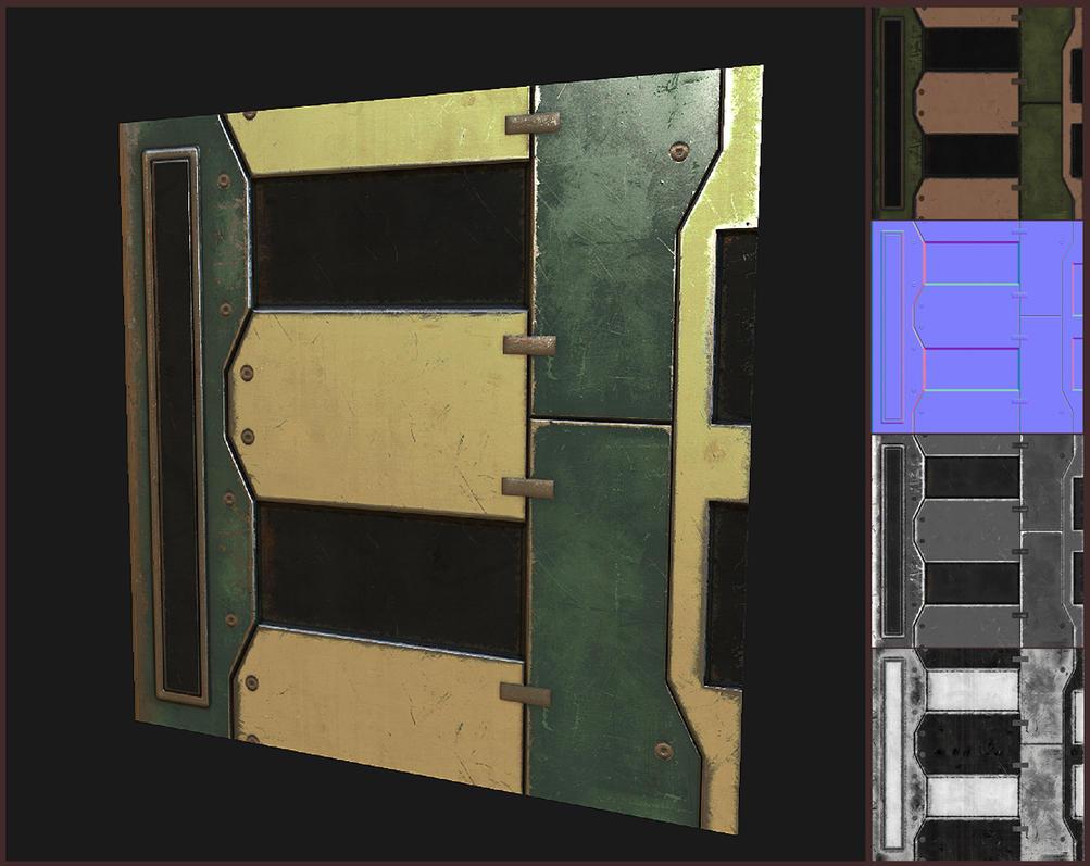 Sci-fi Ceiling panel by EliteRocketbear