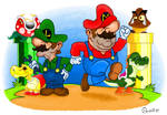 Mario Bros spoof