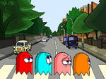 Pac Man Abbey Road