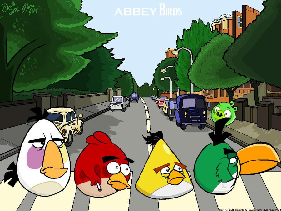 Abbey Birds by DanDav87