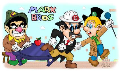 Marx Brothers Mash-up Tribute