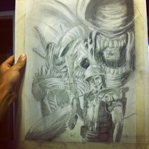 aliens by douglsea