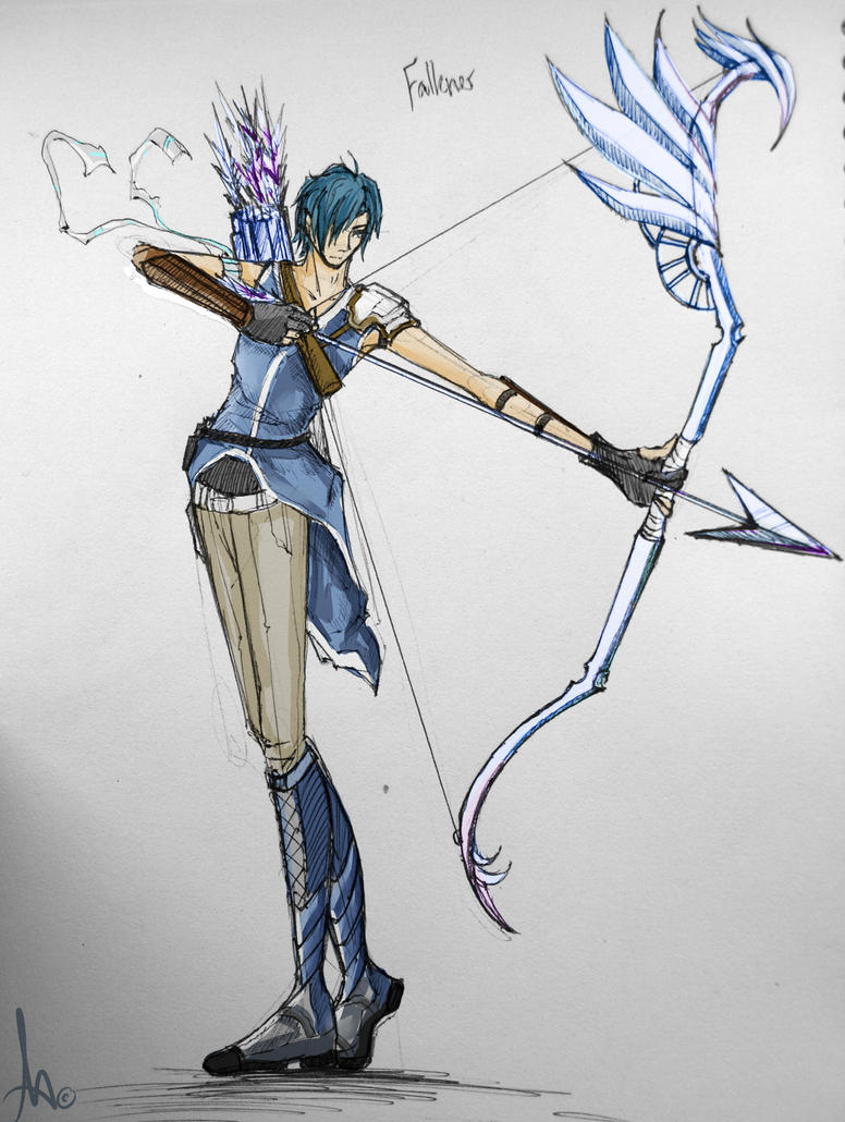 -FALKNER JRPG COLOUR- by KT-ExReplica