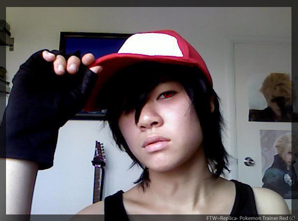 -Pokemon Trainer Red Cosplay WIP- by KT-ExReplica