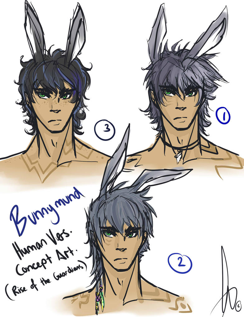 Bunnymund Human Concept Designs- by KT-ExReplica on DeviantArt for Human Easter Bunny Rise Of The Guardians  45ifm