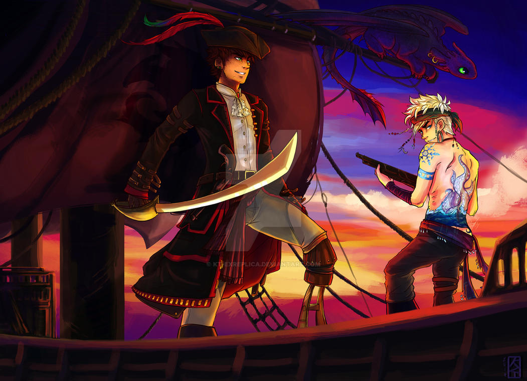 Savage Seas Hijack Pirate Au By Kt Exreplica On Deviantart