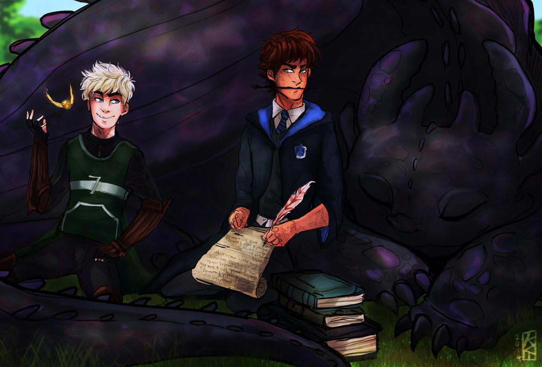 Mischief Managed (Hijack Hogwarts!AU) by KT-ExReplica