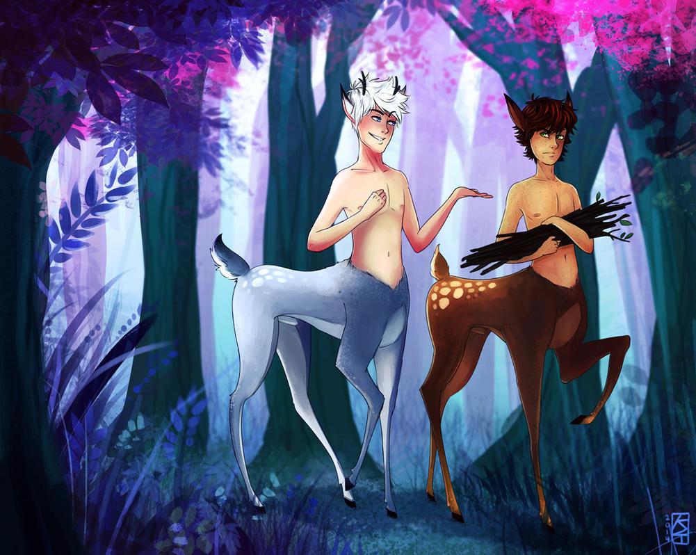 Nice Horns (Deertaur!Hijack) by KT-ExReplica
