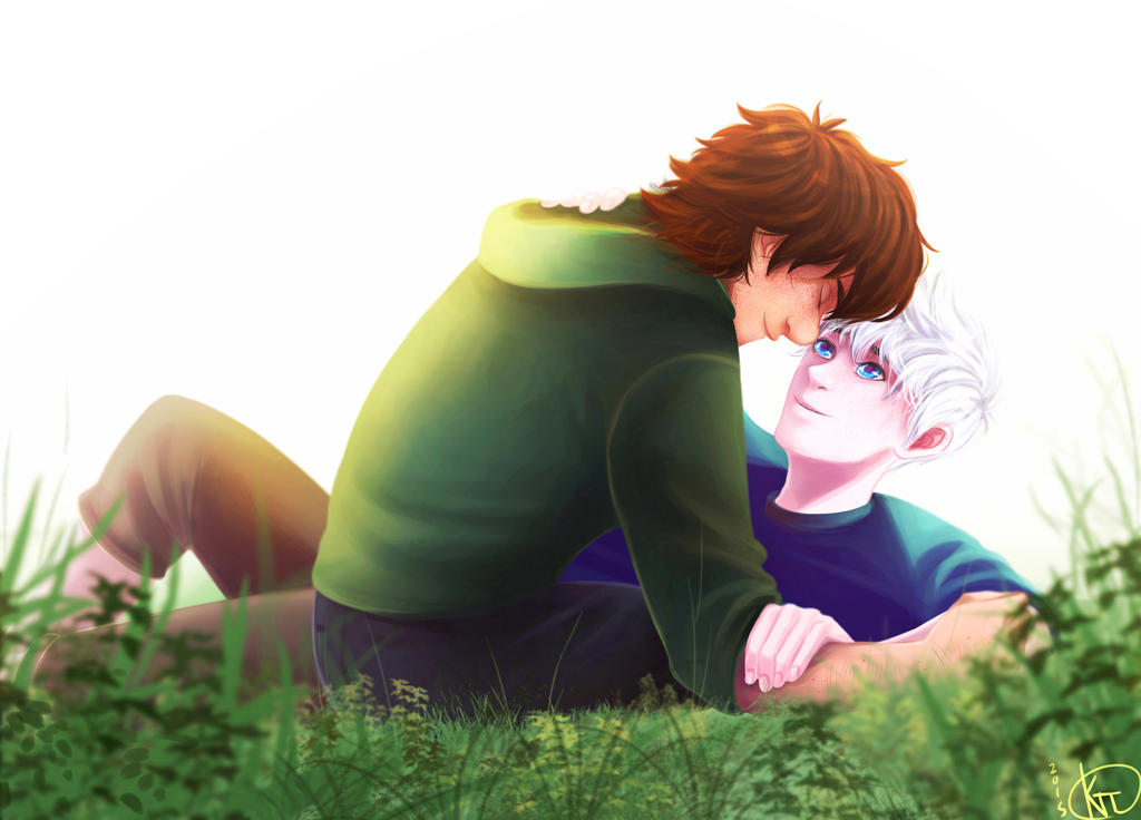 Spring boys (Commission for Aliseaaaaa) by KT-ExReplica