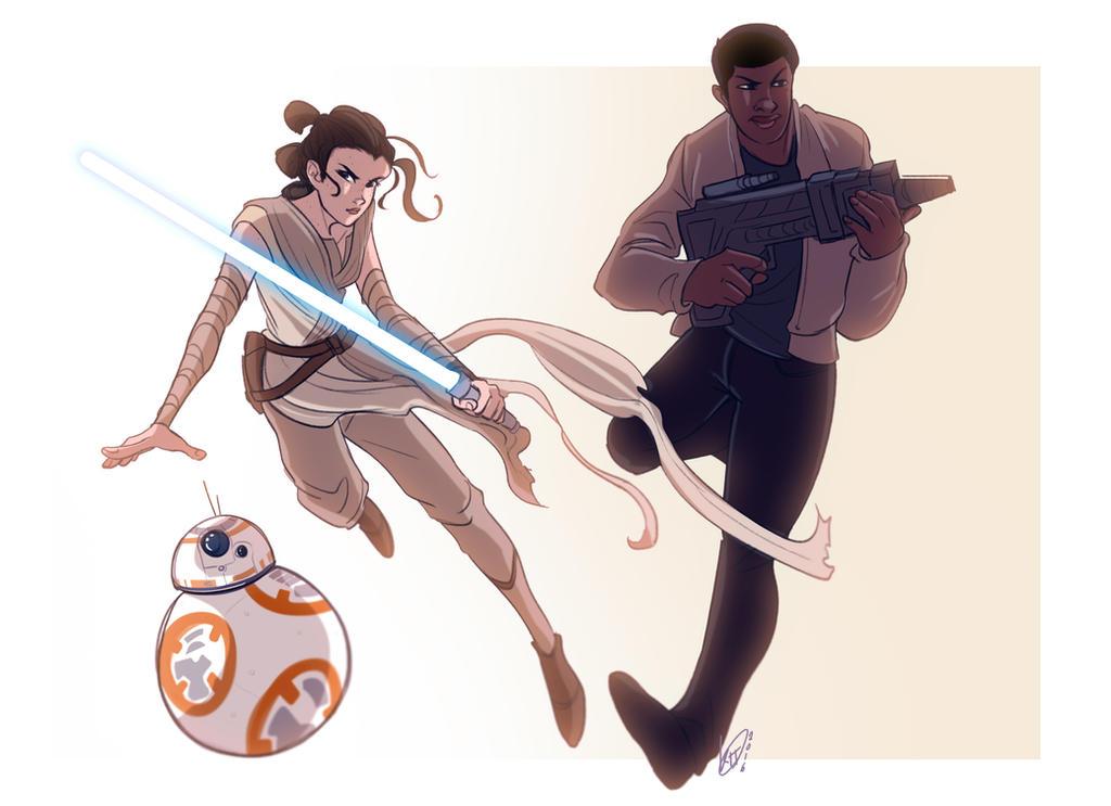 SPACE CHILDREN (Star Wars TFA) by KT-ExReplica