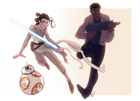 SPACE CHILDREN (Star Wars TFA)