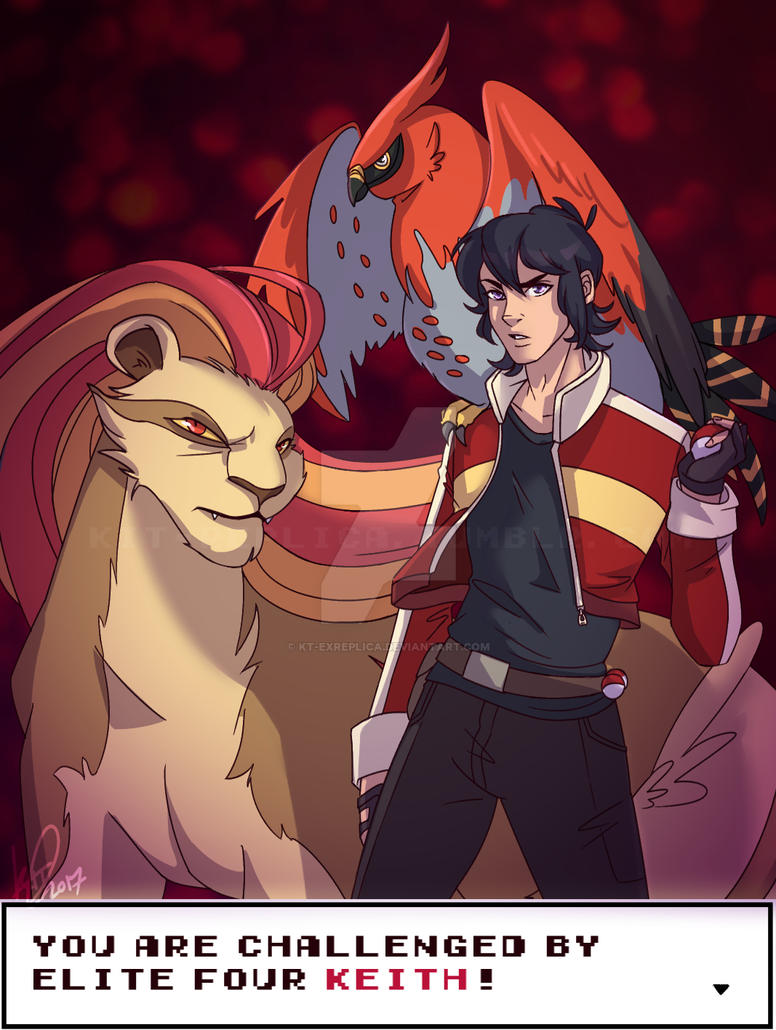 Elite Four Keith Challenges You! by KT-ExReplica