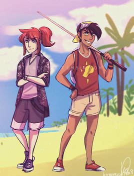 They went to Alola