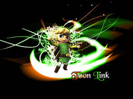 Toon Link Wallpaper by gangsterg