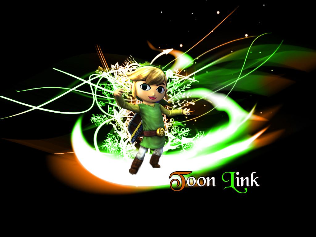 Coleccion de imagenes de Zelda. Toon_Link_Wallpaper_by_gangsterg