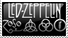 Led Zeppelin Stamp by gangsterg