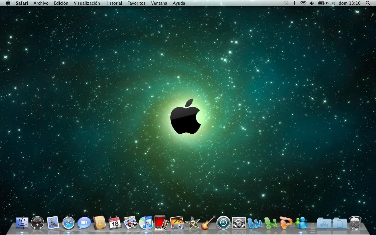 how to open a mac desktop