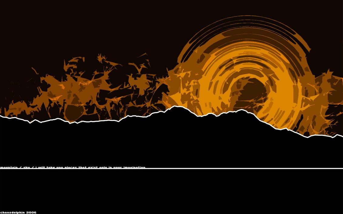 mountain. sky. by K-Eternal