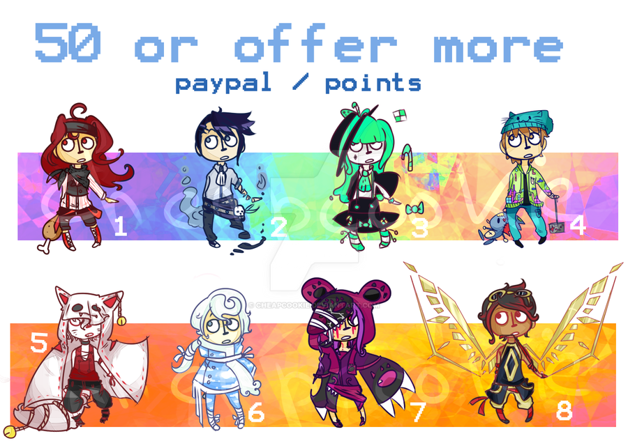 [CLOSED] Special CHEAP batch points/paypal by Cheapcookie